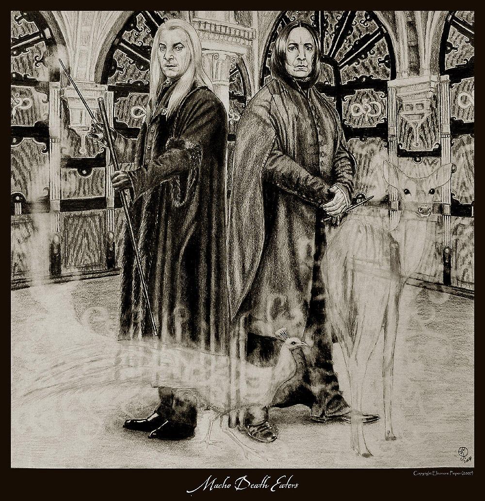 Macho Death Eaters by Ellygator