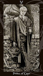 HP Tarot - Prince of Cups by Ellygator