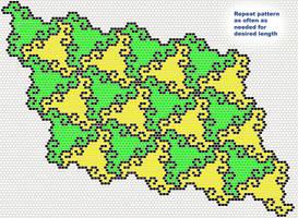 Tumbling Tesselation Pattern by Ellygator