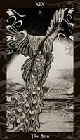 HP Tarot - 19 The Sun by Ellygator