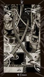 HP Tarot - 4 S Truce by Ellygator