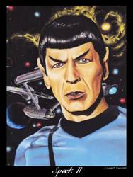 Spock II by Ellygator