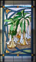 Datura Vines Window by Ellygator