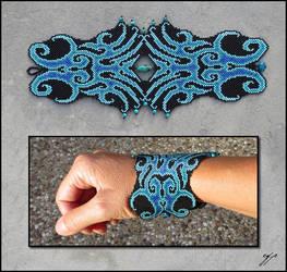 Blue Squid by Ellygator