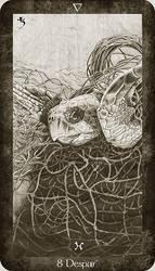 8 of Water, Despair by Ellygator