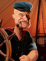 Popeye Williams by JamesParce