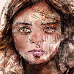 Ilustracion portada Estaba la pajara pinta by letramuda