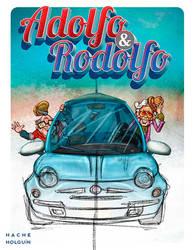 Ilustracion de personajes. Adolfo y Rodolfo by letramuda