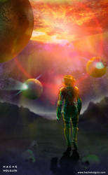 Ilustracion El futuro de Ismael by letramuda