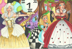Alice in wonderland full by allychan