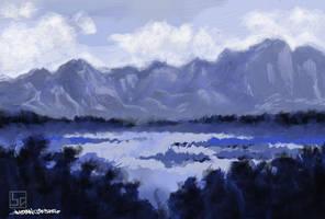 Die Berge by anakinikkee