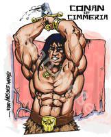 Conan by anakinikkee