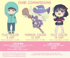 Chibi Commissions [open] by DayKuronuma