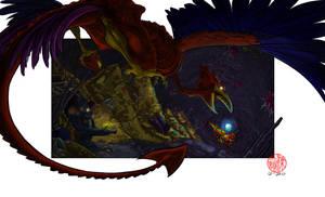 Metroid 2: Return of Jafar by SylviaDraws
