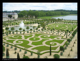 Gardens of Versailles by SylviaDraws