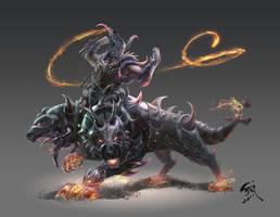 Hell Guardian V2 by phoeni-x-man