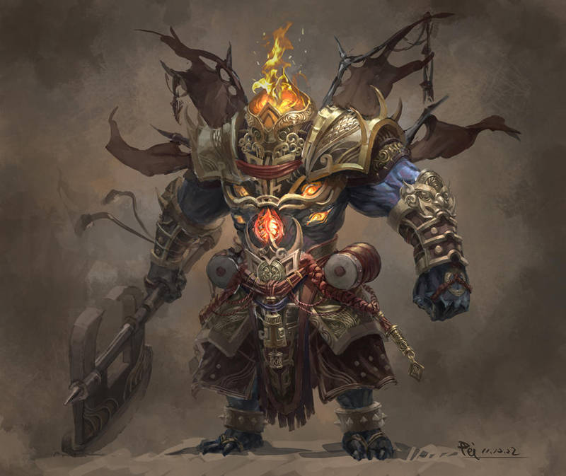Xing Tian who will never surrender by phoeni-x-man