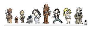 Star Wars Chibbles by TeamAwesome-go