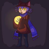 Niko from OneShot by iPerkis