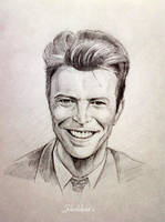 David Bowie's smile by Shishkina