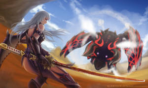 MHXX - Demon Match by Skyde-Kei