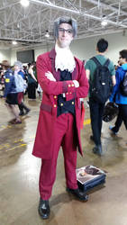 Miles Edgeworth Anime North 2016 by wakeuplena