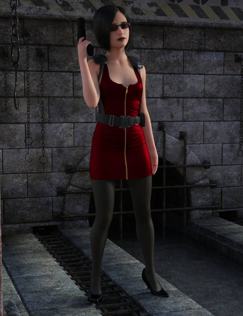 Ada Wong Part 2 by JayDeeGee