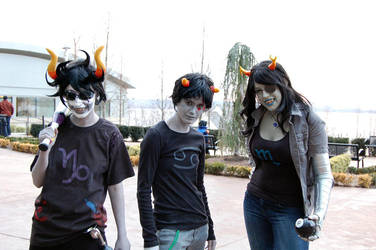 Homestuck: Everyone Smile by TchBee
