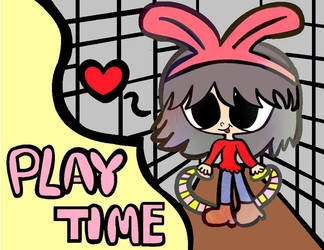 Baldi's Basics - Playtime Girl by CandyHeart567