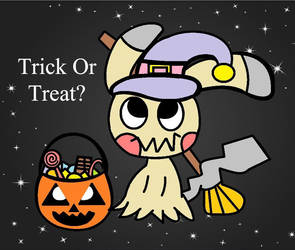 Mimikyu: Trick Or Treat ? - Halloween Special by CandyHeart567