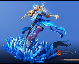 Crystal Maiden Fanart by Graxious