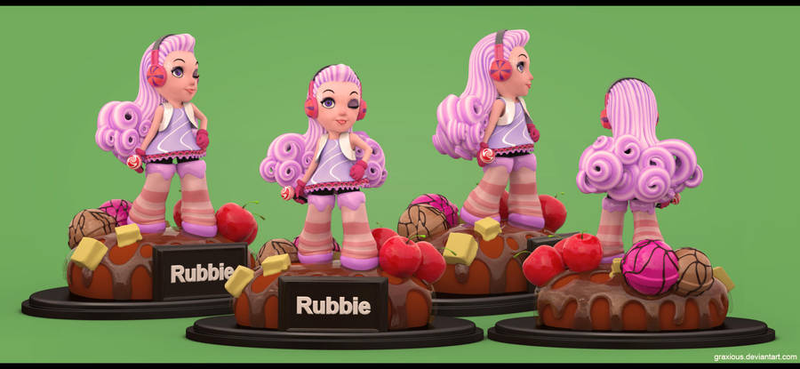 Rubbie, Concept art by LeeYoong by Graxious