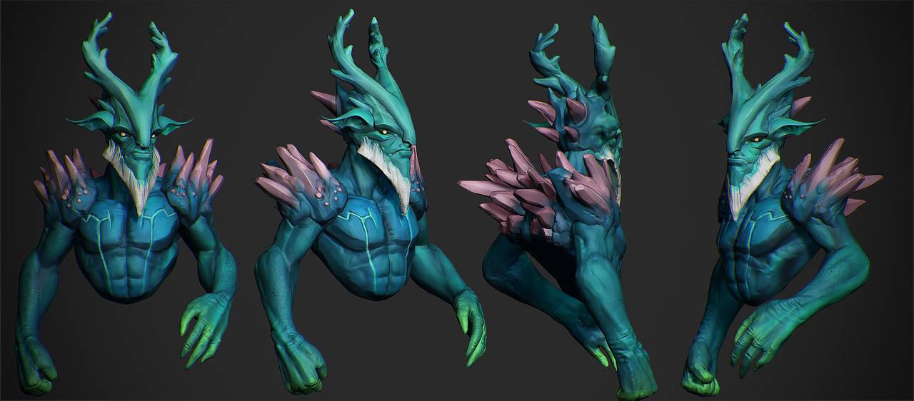 Leshrac For 3D Printing by Graxious