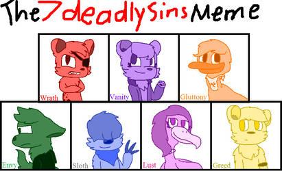 The Seven Deadly Sins Meme by cjc728