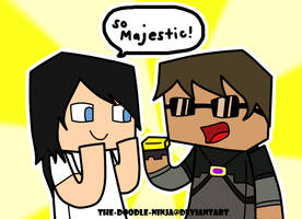 Minecraft: SO MAJESTIC!! by The-Doodle-Ninja