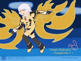 Espgaluda II - Asagi (Kakusei) by Rage-DSSViper-Sigma