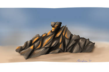0079 - Rock Study by Acceleron