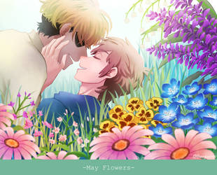 Billdip - May flowers by Buryooooo