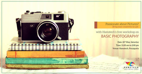 Free Hamstech Photography Workshop by madan223