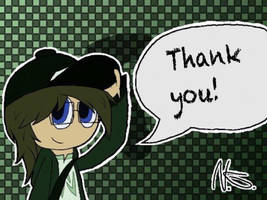 Pryexel say thank you! (Thank you) by Pryexel48