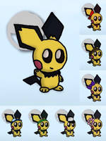 Pichu Alternate Coustume Ideas [OLD] by Pryexel48