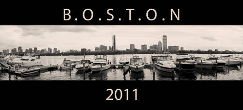 Charles River - Boston by Almraya