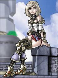 Ashe Final Fantasy XII by CerberusLives