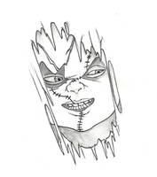 Chucky Tattoo Design by CerberusLives