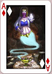Al Uzza - Ace of Diamonds by CerberusLives