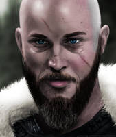 Ragnar Lothbrok by CerberusLives