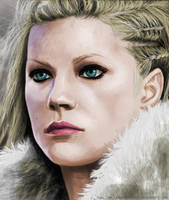 Lagertha by CerberusLives