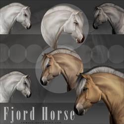 Ribbon Horse - Fjord Horse by EmmaVZ