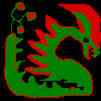 Christmas Dragon by yoshi2e