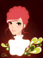 Red Head by CQcat